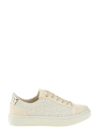 Divarese Bağcıklı Sneakers Ayakkabı Bej